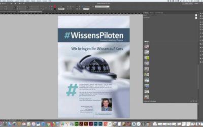 Print- & digitales Layout mit InDesign und Photoshop – unsere Top Schulung im Monat März
