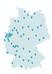 WissensPiloten - an 51 Standorten bundesweit.
