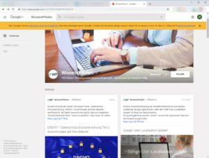 WissensPiloten GooglePlus wird eingestellt