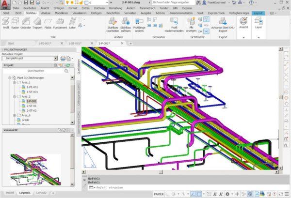 Autodesk AutoCAD Plant 3D für Einsteiger 2