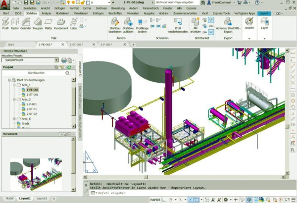 Autodesk AutoCAD Plant 3D für Einsteiger 3