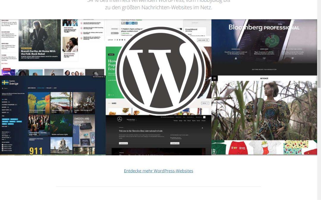 8 gute Gründe für WordPress – das Nr. 1 Content Managementsystem