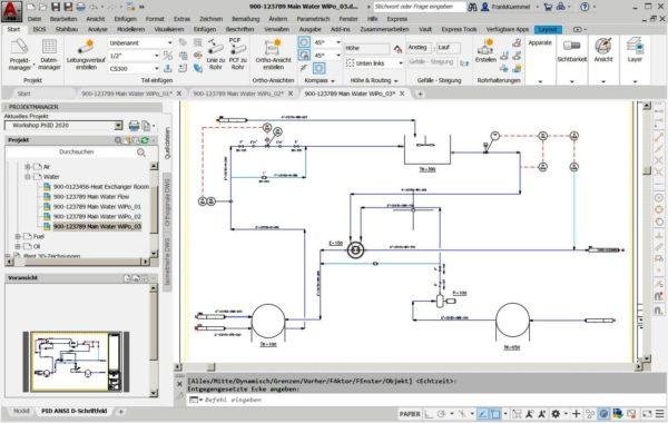 Autodesk AutoCAD P&ID im Plant 3D Toolset für Einsteiger 2
