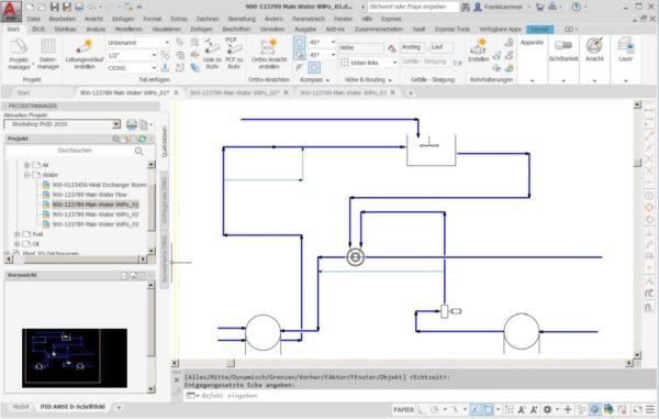 Autodesk AutoCAD P&ID im Plant 3D Toolset für Einsteiger 1