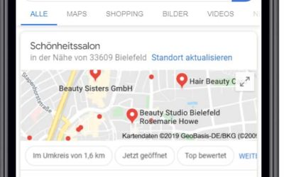 Google My Business – KMU Marketing 2.0: Lokales Marketing mit Google My Business als Aufgabe und Chance für kleine und mittelständische Unternehmen (KMU) mit lokaler Ausrichtung!