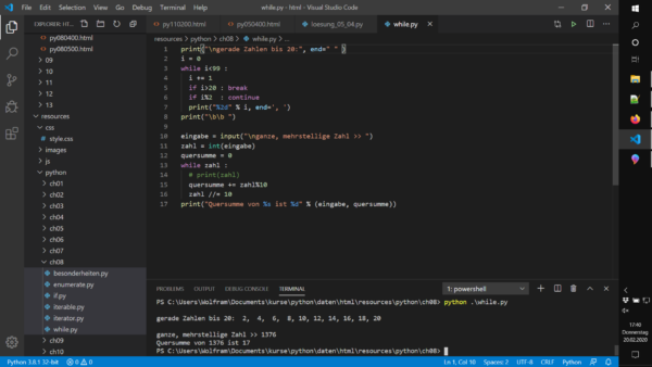 Python Programmierung Grundkurs – Intensiv Schulung für Einsteiger in die höhere Programmiersprache 3
