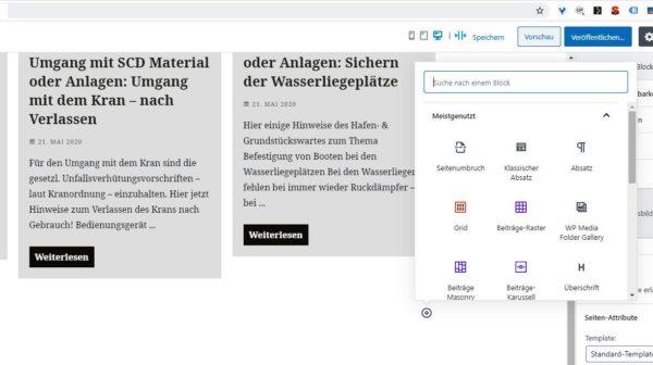 WordPress: Inhaltserstellung mit dem Gutenberg Block Editor - Kurz Webinar 3