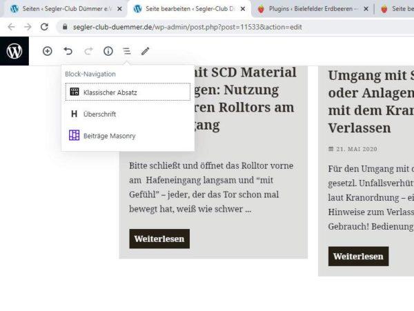 WordPress: Inhaltserstellung mit dem Gutenberg Block Editor - Kurz Webinar 2