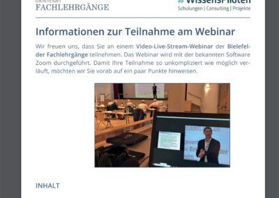 Webinarorganisation durch die WissensPiloten 4
