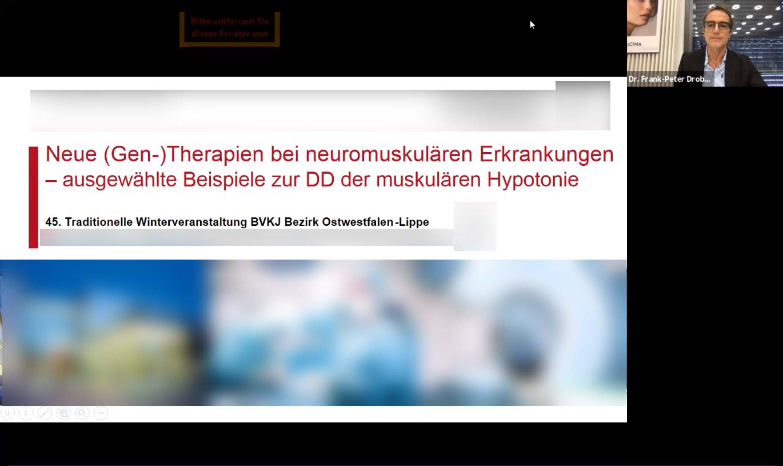 Online Wintertagung des Berufsverbandes Kinder- & Jugendärzte (Bezirk OstWestfalen)